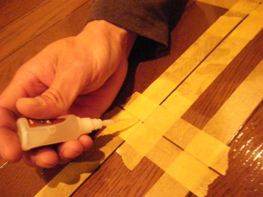 浮き や 床鳴り の補修