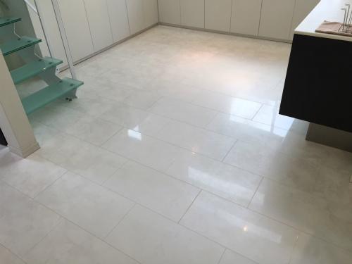 タイルっぽい…床 築4年
